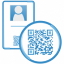 ID card with QR code to access safety training courses