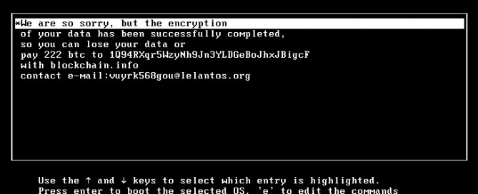 killdisk ransomeware targets linux