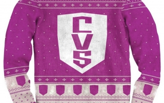 ugly CVS Christmas sweater